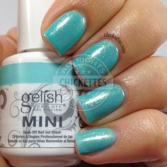 Gelish Cinderella Collection - Party at the Palace - swatch by Chickettes.com