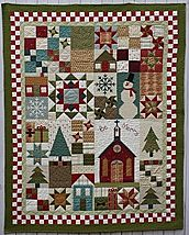 Be Merry Wall Quilt by Bits 'n Pieces