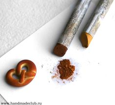 Realistic Pretzel Polymer Clay Tutorial