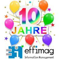 10 Jahre effimag Information Management