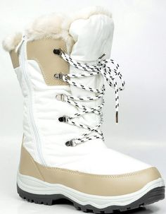 ARCTIV8 Women's Winter Cold Weather Mid High Faux Fur Snow Boots ($19.99)