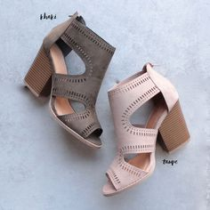 talk around town perforated booties - more colors - shophearts - 1 https://tmblr.co/ZmD_Wd2PHf4TH #italianfashiontrends