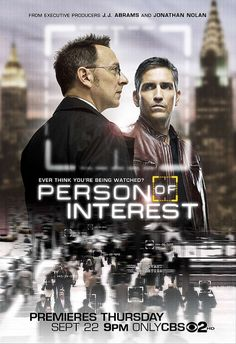 Person of Interest 2011.  Jim Caviezal and Michael Emerson.  Thursday at 9:00 p.m. Channel 2