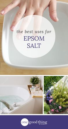 Learn how to use Epsom salt to improve your health, take control of your yard and garden, and get your best skin and hair ever. Seriously!