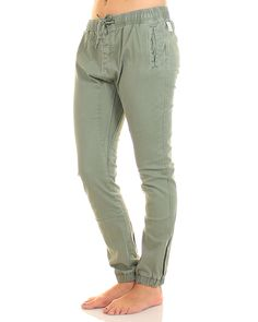 Inseption - Rusty - Womens - Get Hooked Pant - Army