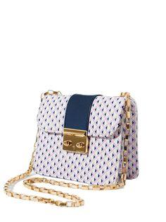 #AdoreWe #StyleWe Bags - L'aetelier Caesars Multicolor Printed PU Mini Crossbody Bag - AdoreWe.net