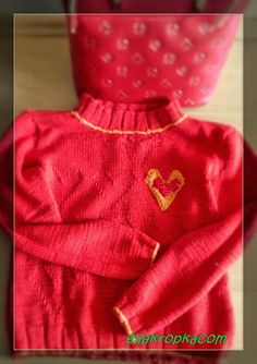 hot sweter - with heart