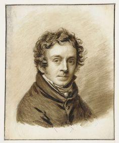 Zelfportret van Pieter Christoffel Wonder, Pieter Christoffel Wonder (Utrecht, 1780-1852 Amsterdam), 1817
