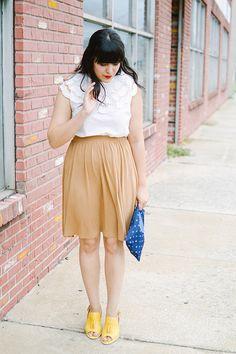 Blusa blanca con detalles calados | Pepaloves