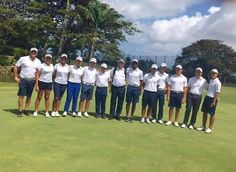 La seleccion Dominicana de Golf  en Barbados