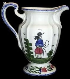 Image detail for -Collecting Antique Blue Ridge Pottery Plates and Dishes made in ...