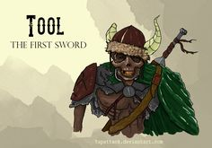 Tool: The First Sword by YapAttack.deviantart.com on @DeviantArt
