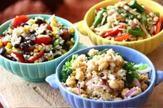 Build Your Own Bean and Grain Salads - Three Many Cooks