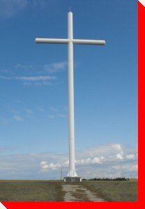 Millenium Cross Shrine - Aberdeen, Saskatchewan I Am Canadian, Western Canada, Roadside Attractions, Aberdeen, Canada Travel, City Life, Road Trips, Welding, Social Studies
