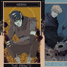 """Kieran and Mark -- part of a set for Lord of Shadows by Aegisdea. And a snippet from LoS: """"I have always needed you, Kieran,"""" Mark said. """"I have needed you to live. I've always needed you so much, I never had a chance to think about whether we were good for each other or not."""" Kieran sat up. """"That is honest,"""" he said, finally. """"I cannot fault you there."""""""