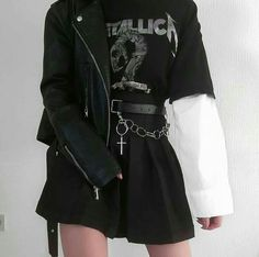 grunge outfits on . Grunge Outfits, Style Outfits, Hipster Outfits, Gothic Outfits, Edgy Outfits, Mode Outfits, Cute Casual Outfits, Girl Outfits, Black Outfit Grunge