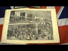 Victorian workshop artefact: 1851 Great Exhibition catalogue - YouTube