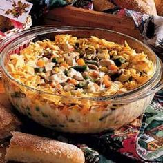 Chicken Rice Casserole (uses recipe for Homemade Seasoned rice mix)
