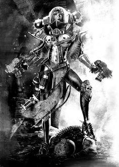 "sororitahazel: ""riodanoduffy submitted "" Sister of Battle: Triumphant by…"