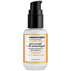 Sephora: Ole Henriksen : Pure Truth™ Vitamin C Youth Activating Oil : cleansing-oil-face-oil