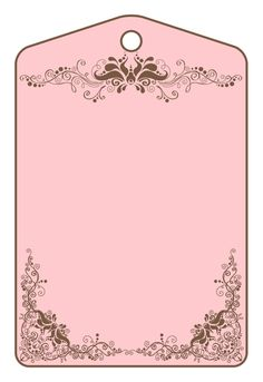 Paper shabby chic vintage clothing pink, pink pattern tag, pink and brown floral banner Flower Phone Wallpaper, Baby Clip Art, Handmade Tags, Fashion Wall Art, Chocolate Strawberries, Bullet Journal Ideas Pages, Binder Covers, Paper Tags, Pink Patterns