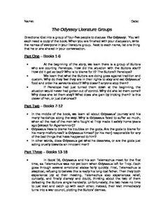 The Odyssey Questions   shmoopcom GradeSaver