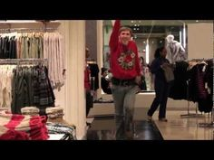 guy dancing to maria carey with ipod in public! It will cheer you up I promise!((: