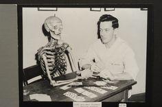 Pre-med student, 1940's