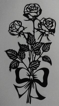 25%Rabatt  Papercut  Scherenschnitt Modern Art von WattwurmAllerlei