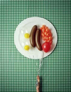 #illustration #concept #photography  by David Sykes' faux food