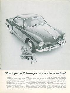 Volkswagen ad - Volkswagen Parts