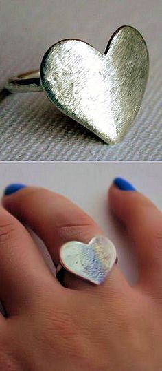 Silver Heart Ring ♥
