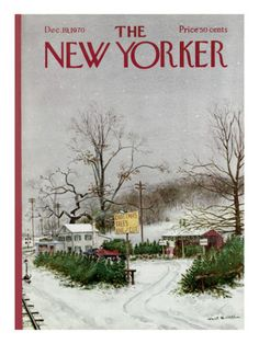 The New Yorker Cover - December 19, 1970 Poster Print by Albert Hubbell at the Condé Nast Collection