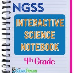 4th Grade NGSS Interactive Science NotebookAre you using the Next Generation Science Standards?This is a supplemental resource for the science activities your class completes. Students need to develop and use models, plan and carry out investigations, and use mathematics and computational thinking.