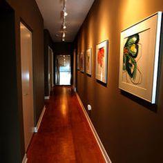 Lighting up long hallway