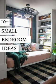 775 Best Organizing Small Spaces Images On Pinterest In 2018 Bed Greanus Small Room Bedroom Small Master Bedroom Small Bedroom