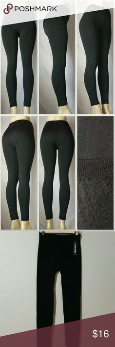 🎄New Fashion Fleece Solid Color Knitted Leggings New with Tags  🌻Fashion Fleece Solid Color Knitted Leggings One Size Brushed Warm Winter Pants  🍁92% Polyester,  8% Spandex  🍁Regular One Size  ( it covers Regular Small to Large Size  ✔All Reasonable Offers Accepted  ✔Bundle Discounts!💲💲💲 Thank you for stopping by!  Make an offer! 👍 DOCEFIT  Pants Leggings