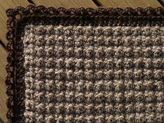 Ravelry: Hekluð motta / Crocheted rug pattern by Ólöf Lilja Eyþórsdóttir