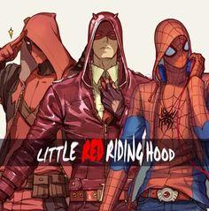 Deadpool Daredevil Spiderman