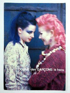 Juergen Teller x Comme Des Garcons s/s 1991 Cindy Sherman, Fashion Advertising, Advertising Campaign, Campaign Posters, Print Advertising, Print Ads, Lindbergh, Moda Vintage, Vintage Ads