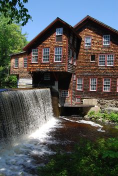 Frye's Measure Mill, Wilton, NH     A great place to visit.  Working mill.