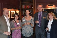 Craig from Red Dot Events with Paula & Sheila from Access Art and Karl & Trina from The Darryl Nantais Gallery in Linton