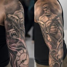 Close up , #darwinenriquez #tattoo Hércules