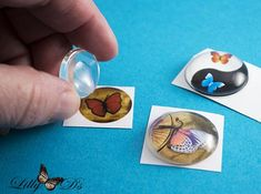 [orginial_title] – Cara Amcher Making DIY Photo Jewelry with Glass Cabochons and Pendant Tray Tutorial Bonding Your Image to your Glass Cabochon Sea Glass Jewelry, Resin Jewelry, Jewelry Crafts, Yoga Jewelry, Handmade Jewellery, Silver Jewelry, Silver Rings, Diy Cabochon Earrings, Diy Foto