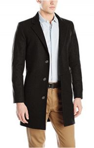Nautica Men's 3 Button Wool Blend 37 Inch Topcoat, Black, 42 Regular: Nautica men's 37 inch with modern fit and shorter length Topcoat Men, Mens Wool Coats, Best Mens Fashion, Mens Clothing Styles, Men's Clothing, Jacket Style, Wool Blend, Mens Tops, Button