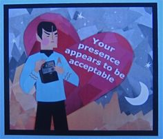 Great Geek Valentine from Lisa Penney