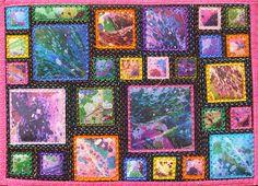 34. Digital Lilies Journal Quilt
