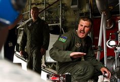 Technical Sgt. Chris Linquest, 731st Airlift Squadron loadmaster with the 302nd Airlift Wing at Peterson AFB uploads retardant in to the modular air fire fighting system equipped C-130 Hercules aircraft in support of the Waldo Canyon wild fire in Colorado Springs