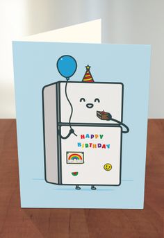63 best threadless recycled paper greeting cards at target images fridge full of cake by threadless artist alia rezk from the united states available at target m4hsunfo