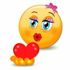 Love Smiley, Emoji Love, Cute Emoji, Emoticon Love, Kiss Emoji, Smiley Emoji, Smiley Faces, Good Morning Picture, Morning Pictures